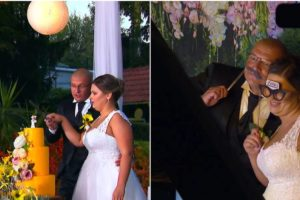 Tomislav i Kristina rezali tortu, fotografirali se, a on zaplesao i s njenom mamo:'Svidio si joj se'