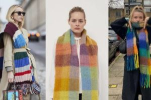 Topli i raskošni: Voluminozni pleteni šalovi su poput dekice